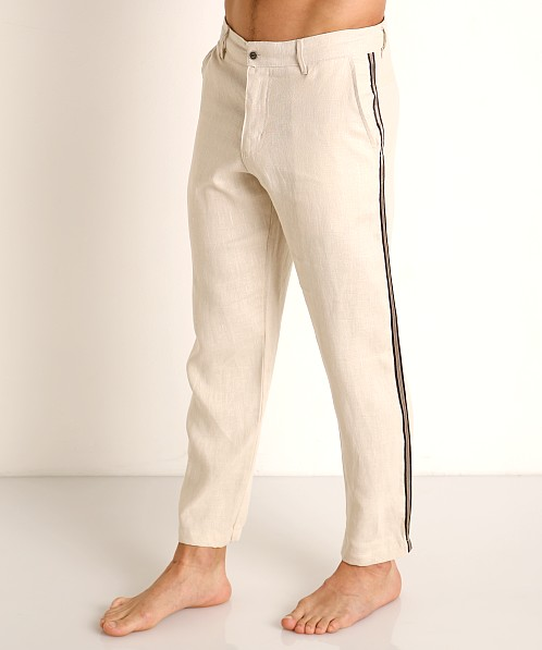 Sauvage Linen Resort Pants Natural Tan
