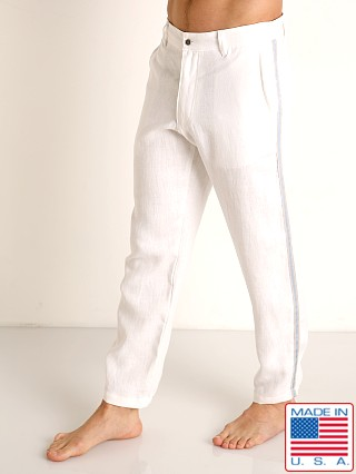 Sauvage Linen Resort Pants White