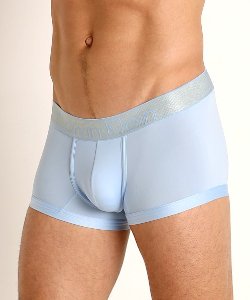Calvin Klein Customized Stretch Low Rise Trunk Blue Contrell