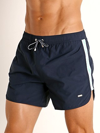 Complete the look: Hugo Boss Shiner Swim Shorts Navy