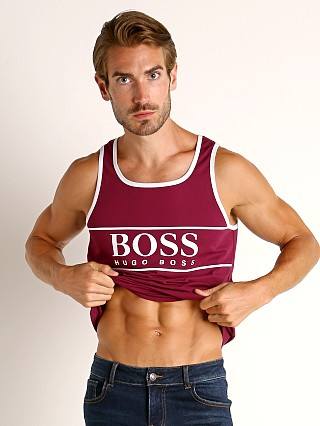 Hugo Boss Beach Tank Top Plum