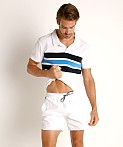 Hugo Boss Terry Beach Polo Shirt White, view 2