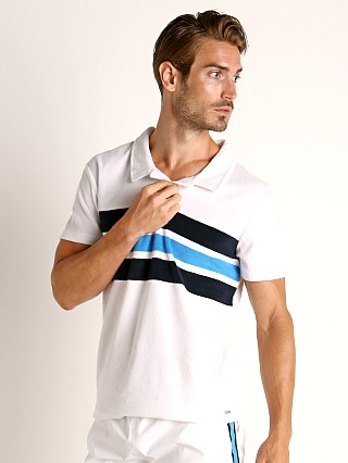 Hugo Boss Terry Beach Polo Shirt White
