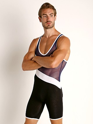 You may also like: American Jock Elite Sport Sport Tri-Color Singlet Navy Combo