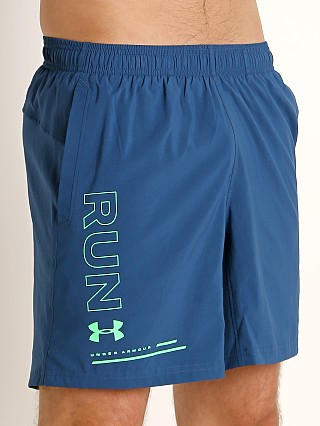 "Under Armour Speed Stride 7"" Short Petrol Blue/Reflective"