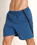 Under Armour Launch 7'' Short Petrol Blue/Reflective, view 3