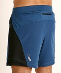 Under Armour Qualifier Speedpocket 7'' Short Petrol Blue/Reflect, view 4