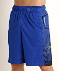 Under Armour Baseline Practice Short Royal/Black, view 3