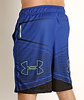 Under Armour Baseline Practice Short Royal/Black, view 4