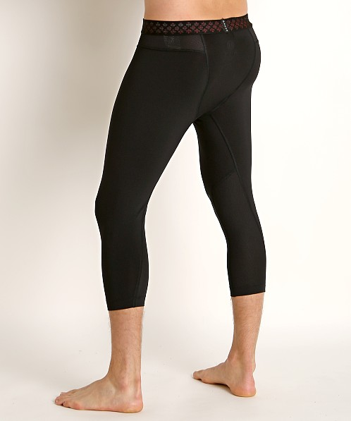 Under Armour Rush 3/4 Legging Black/Black