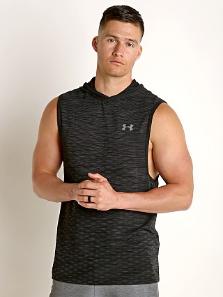 Under Armour Vanish Seamless Sleeveless Hoodie Black/Graphite