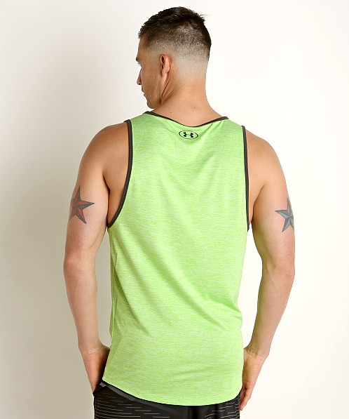 Under Armour Tech 2.0 Tank Top Zap Green/Jet Gray