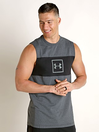 Complete the look: Under Armour Sportstyle Cotton Mesh Tank Top Black/Mod Gray