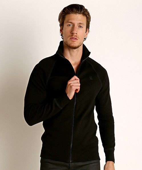 G-Star Jirgi Zip Top Dark Black