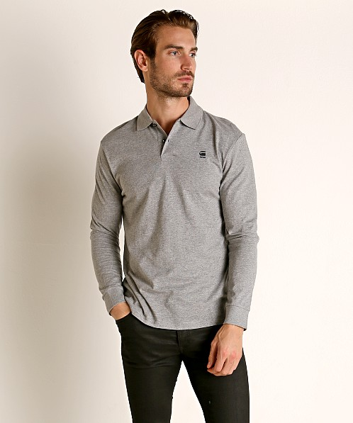 G-Star Core Polo Charcoal Heather