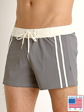 Sauvage Superwear Swim Trunk Charcoal/Creme