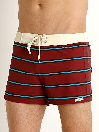 You may also like: Sauvage Retro Vibe Striped Swim Trunk Crimson