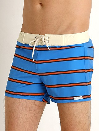 You may also like: Sauvage Retro Vibe Striped Swim Trunk Royal