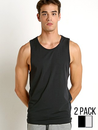 Complete the look: Under Armour Original Tank Top 2-Pack Grey Heather/Stealth Grey