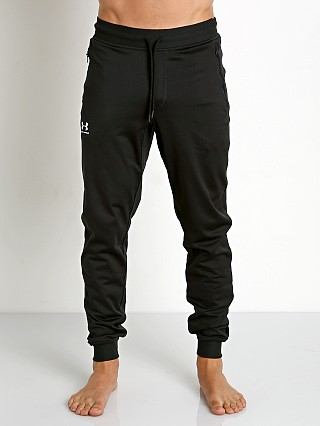 Model in black Under Armour Sportstyle Jogger Pant