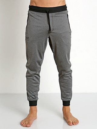 Model in carbon heather Under Armour Sportstyle Jogger Pant