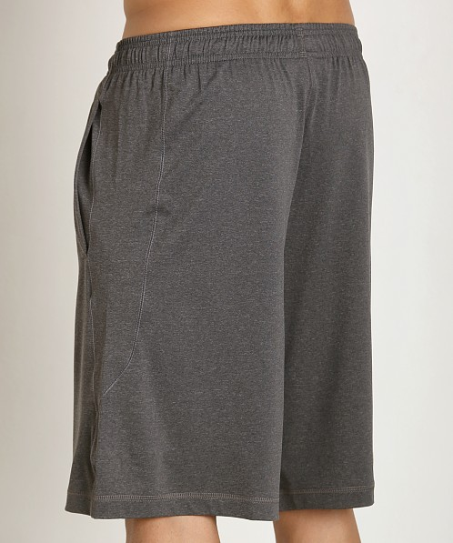 "Under Armour 10"" Pocketed Raid Short Carbon Heather"