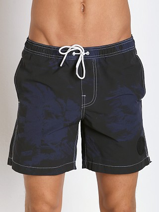 G-Star Dirik Stormy Hawaiian Swim Shorts Imperial Blue