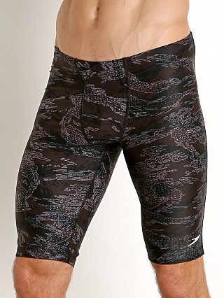 Speedo Camo-tion Hybrid Compression Short Black Camo
