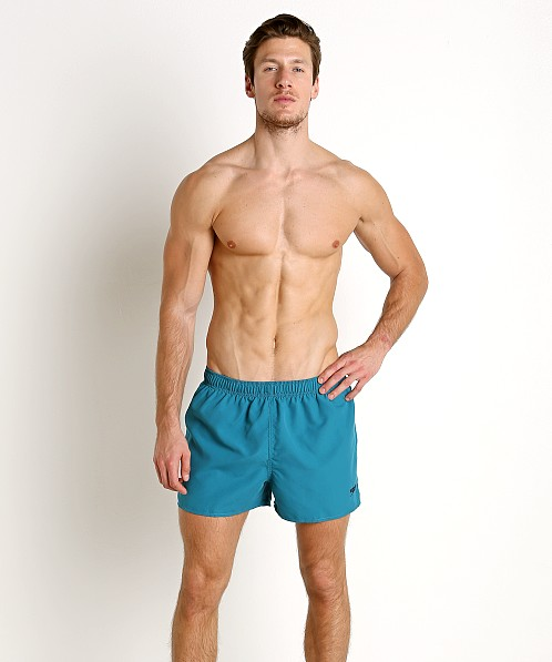 "Speedo 4"" Solid Surf Runner Ocean Depths"