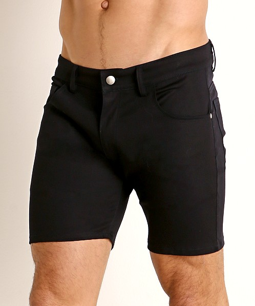 LASC Cotton Twill 5-Pocket Shorts Navy