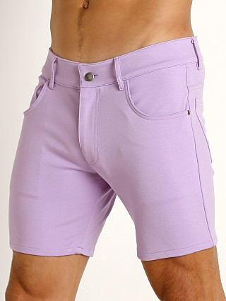 You may also like: LASC Stretch Jersey 5-Pocket Shorts Lilac