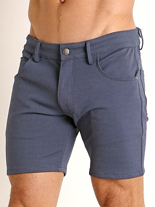 You may also like: LASC Stretch Jersey 5-Pocket Shorts Heather Denim