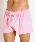 LASC Lightweight Corduroy Shorts Pink, view 3