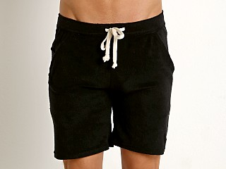 Complete the look: LASC Solid Terry Rower Short Black