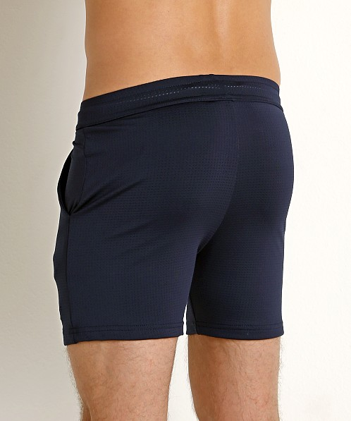 LASC Performance Pique Mesh Workout Short Navy