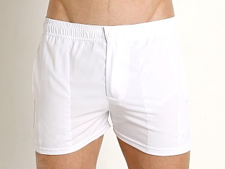 Complete the look: LASC Malibu Swim Shorts White