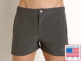 LASC Malibu Swim Shorts Charcoal