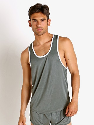 Complete the look: LASC Matte Jersey Tank Top Army