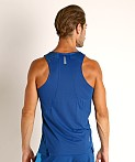 Under Armour Qualifier Iso-Chill Runner's Tank Top Blue, view 4