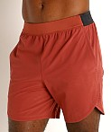 Under Armour Stretch Woven Shorts Cinna Red/Metallic Solder, view 3