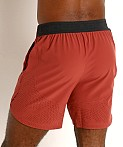 Under Armour Stretch Woven Shorts Cinna Red/Metallic Solder, view 4