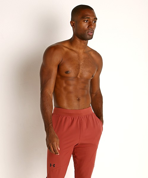 Under Armour Flex Woven Tapered Pants Cinna Red/Black