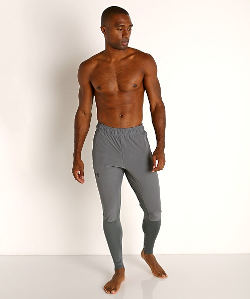 Under Armour Hybrid Pant Leggings Pitch Gray/Black