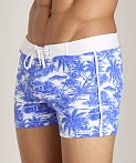 Sauvage Vintage Bali Retro Swimmer Blue Hawaii, view 3