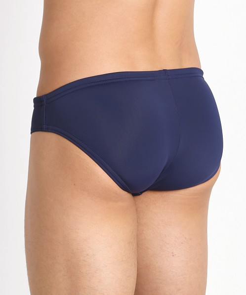 "Speedo PowerFlex Eco Solar 1"" Swim Brief Speedo Navy"