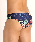 Speedo One Print Swim Brief Island Vision, view 4