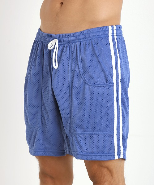 LASC Athletic Mesh Workout Short Royal