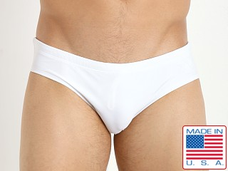 LASC Competition Swim Brief White