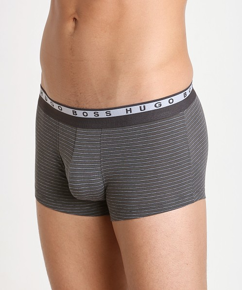 Hugo Boss Stripes Boxer Open Green