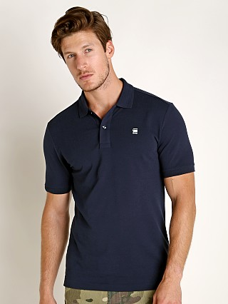 G-Star Dunda Slim Polo Shirt Sartho Blue